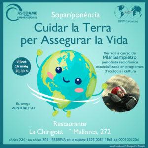 Cuidar la Terra per Assegurar la Vida amb Pilar Sampietro - Activitats Asodame
