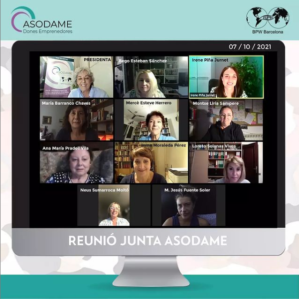 REunió Junta Asodame Octubre21